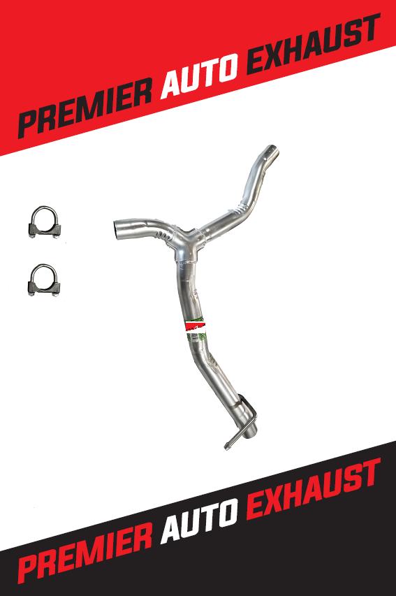 Fits- Chevrolet Traverse 2009 2010 2011 2012 2013 Rear Y pipe 3.6L